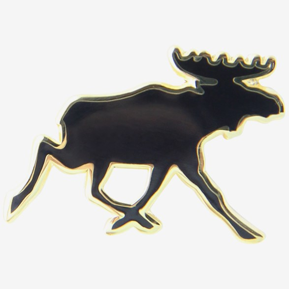 Black Moose Pin