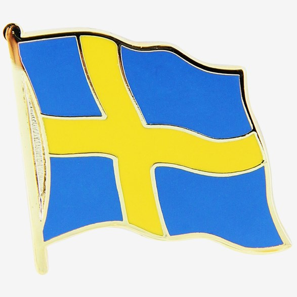 Pin Swedish Flag