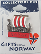 Pin Vikingskip Norway