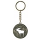 Metal Keychain Moose Sweden