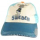 Kids' Cap Blue With Moose Sweden