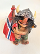 Viking Troll With Flag