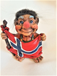 Troll With Norwegian Flag
