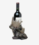 Wine Holder With Moose