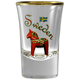 Shot Glass Dala Horse