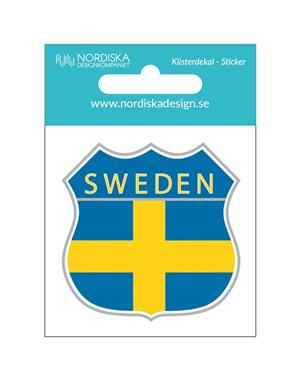 Decal Sweden Shield