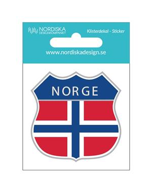 Decal Norway Shield