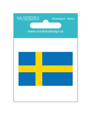 Decal Swedish Flag