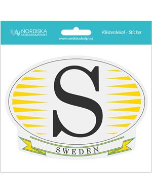 Car Decal S Sweden
