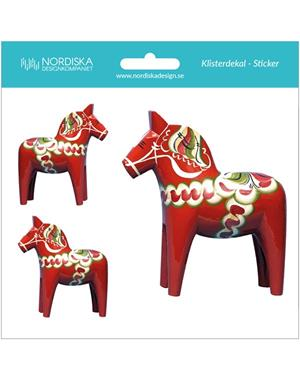 Decal 3 Dala Horses
