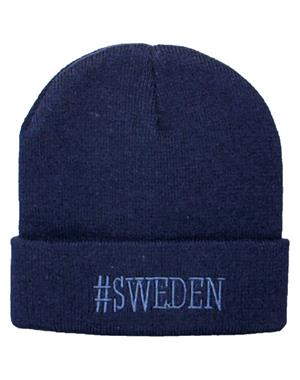 Hat #Sweden Blue