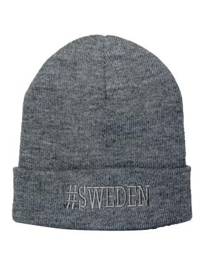 Hat #Sweden Grey