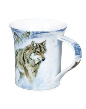 Mug With Wolfe Motif Design By Rolf Svennson