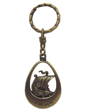Keychain Viking Ship