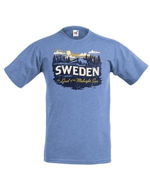 Blue Sweden T-shirt