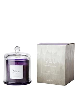 Sense A Luxurious Purple Green Tea & Hyacinth Scented Candle