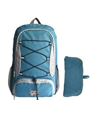 Backpack Blue & Gray