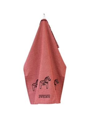 Kitchen Towel Dalahorse Red