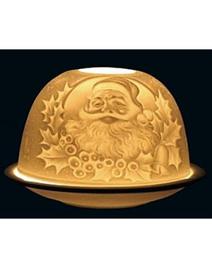 Tealight Candle Holder Santa Claus