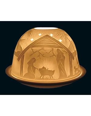 Tealight Candle Holder Nativity