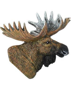 Fridge Magnet Moose Head