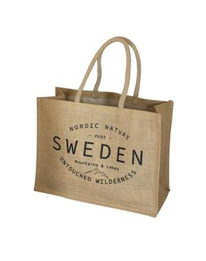 ECO Jute Bag - Sweden Untouched Wilderness