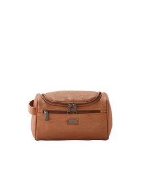 Toilet bag 25x15x14 Brown