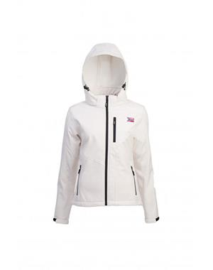 White Softshell Jacket Woman - Sport Edition