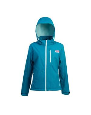 Turquoise Softshell Jacket Woman - Sport Edition