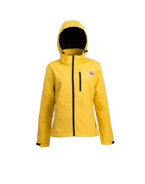 Yellow Softshell Jacket Woman - Sport Edition