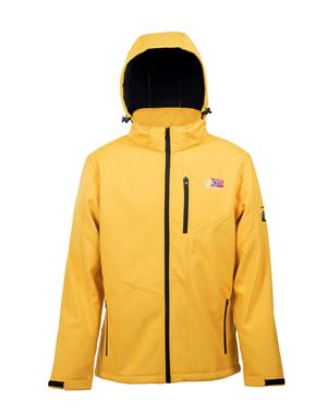 Yellow Softshell Jacket Unisex - Sport Edition