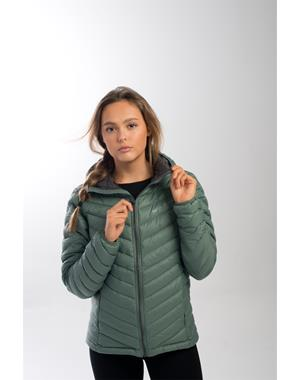 Down Jacket Woman - Green