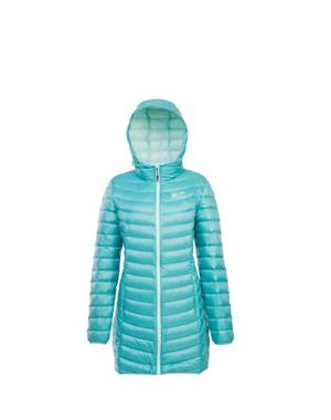 Down Coat Woman - Turquoise