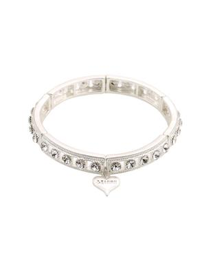 Armband Silver Med Strass