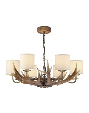 Antler 6 Brown Horn Lamp From David Hunt