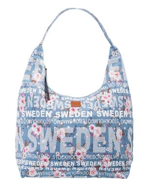 Väska / City Bag Blå & Rosa