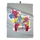 Kitchen Towel With Dala Horse Print