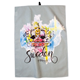 Kitchen Towel With Crown Print