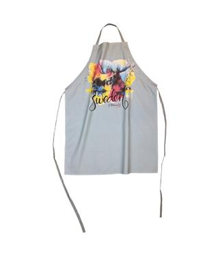 Apron With Moose Print