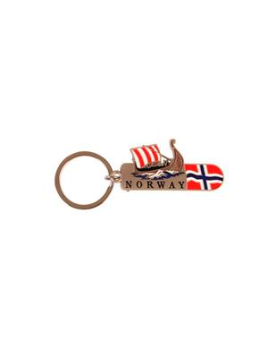 Keychain Nail Clipper With Viking Ship