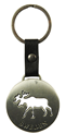 Keychain Metal Moose Sweden