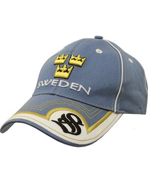 Blue Cap Three Crowns Sweden