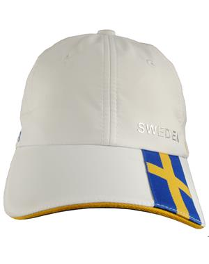 White Cap Sweden & Swedish Flag