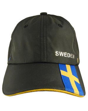 Black Cap Sweden & Swedish Flag