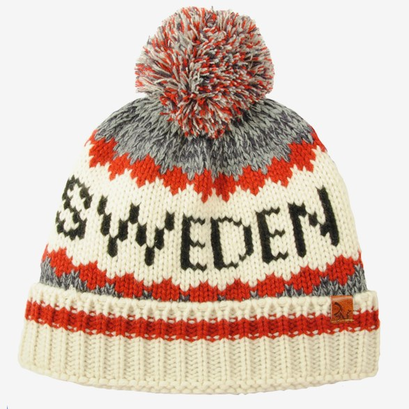 Knitted Hat With Tassel Sweden