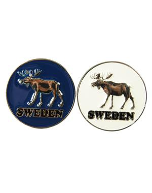 Fridge Magnet Metal Moose