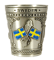 Shotglas Metall Sweden