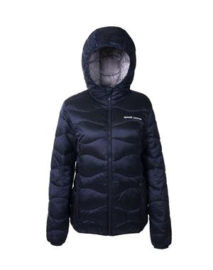 Jacket Wadding Unisex - Dark Blue & Gray
