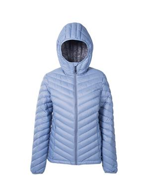 Down Jacket Woman - Light Blue