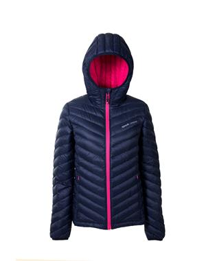 Down Jacket Woman -Blue & Pink